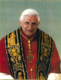 Pope Benedict congratulates Richway on spreading good health